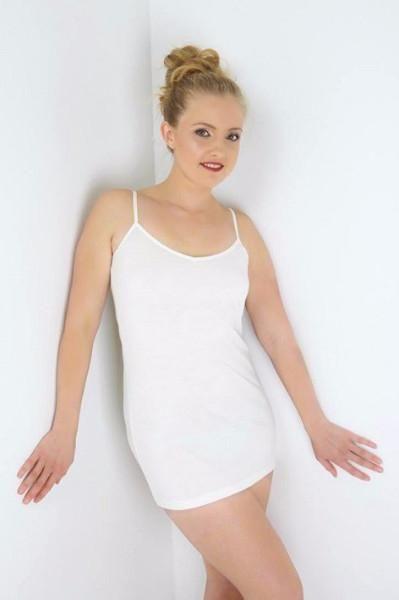 Merino Reversible Long Camisole Slip  - Smart Merino  - Nature's Secret - https://www.smartmerino.co.nz/collections/womens