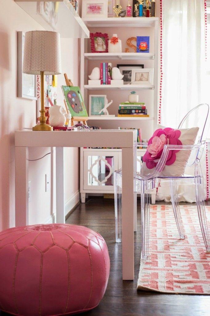 Tween Girl Pink + Coral Bedroom - Darling Darleen   A Lifestyle Design Blog