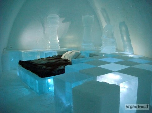 #hotel più strani del mondo: Ice Hotel, Jukkasjarvi, #Svezia