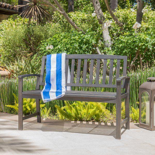 Incredible Leora Wooden Garden Bench My Home Teak Garden Bench Cjindustries Chair Design For Home Cjindustriesco