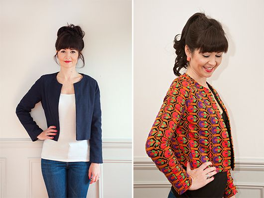 Coco Jacket sewing class in London - Sew Over It (class in London)