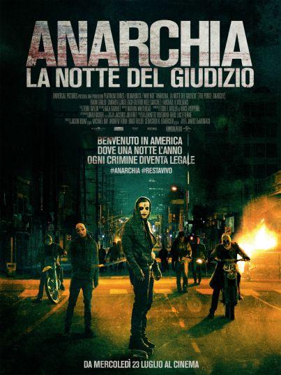 Anarchia - La Notte del Giudizio al #cinema dal 23 luglio 2014 ... #film #trailer