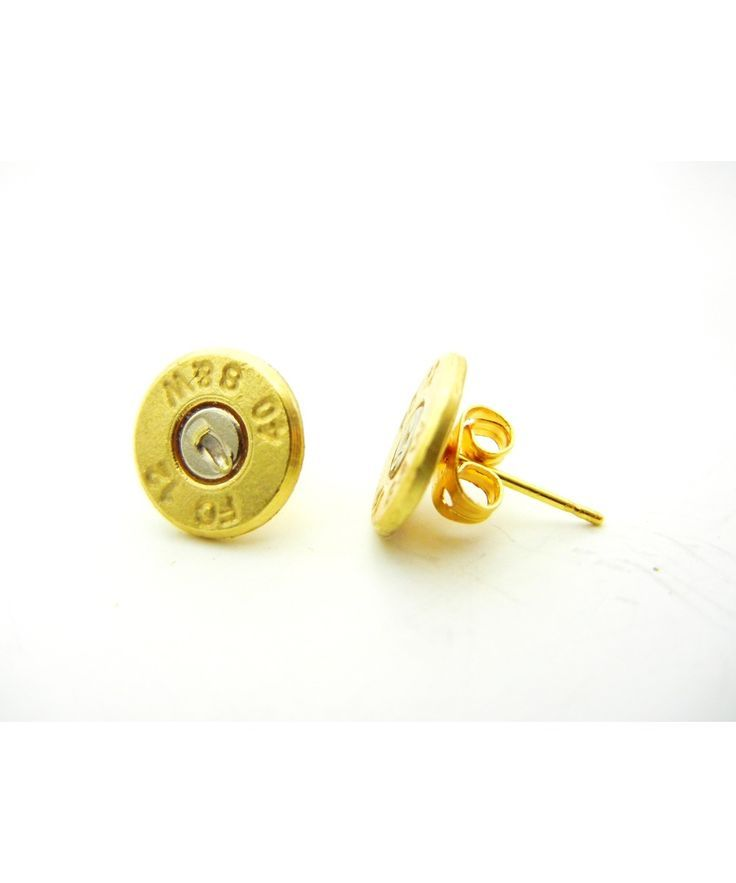 Bullet Stud Earrings #shoplately
