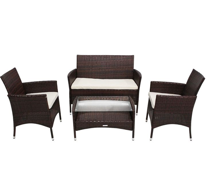 16 Adorable Dark Wicker Furniture Design Idea