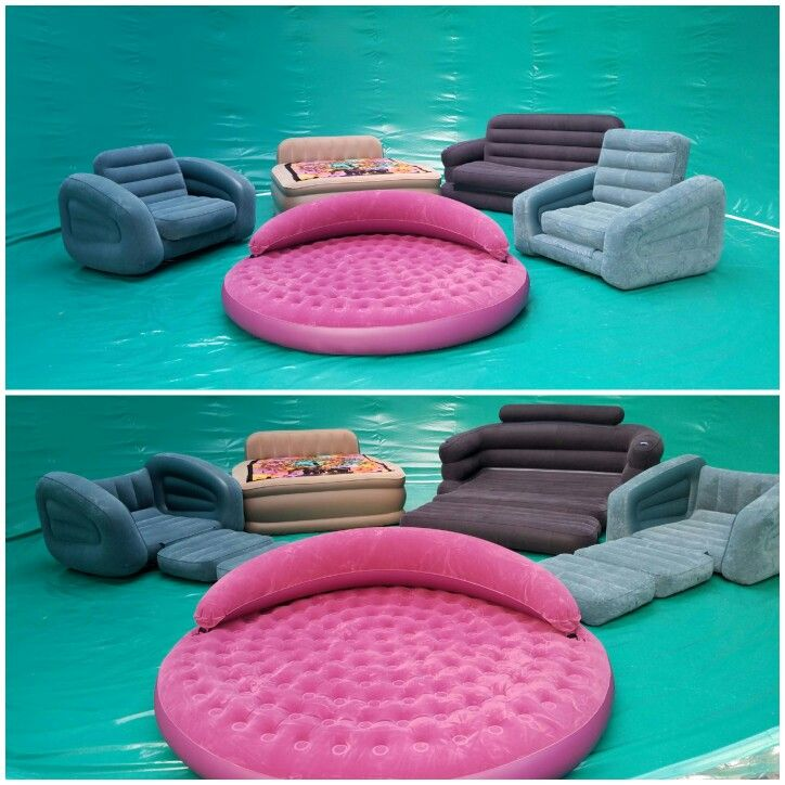 Inflatable Furniture For The BUBBLE