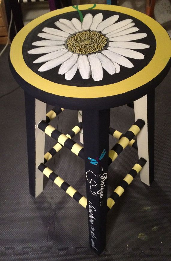 Daisy Stool Counter Height By Calibrii On Etsy Funky
