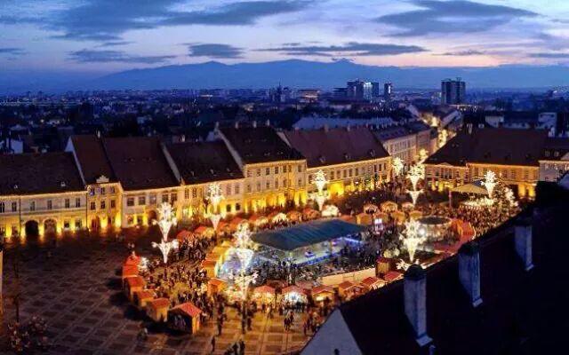 Sibiu, X-mas market