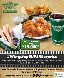 Wing Stop Promo Super Suprise http://www.perutgendut.com/read/wing-stop-promo-super-suprise/1064 #Promo #Food #WingStop