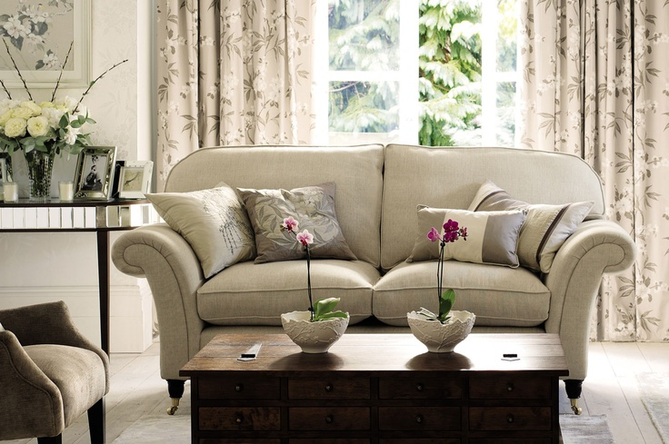 Mortimer Upholstered 2 Seater Sofa - Laura Ashley
