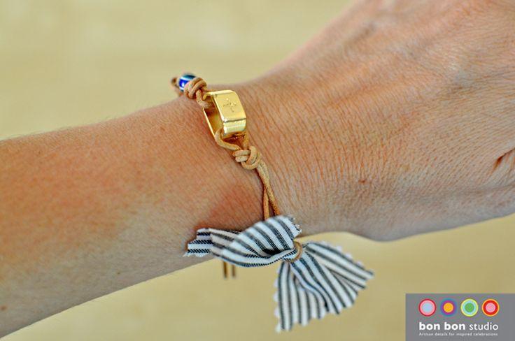 leather bracelet #bonbonstudio