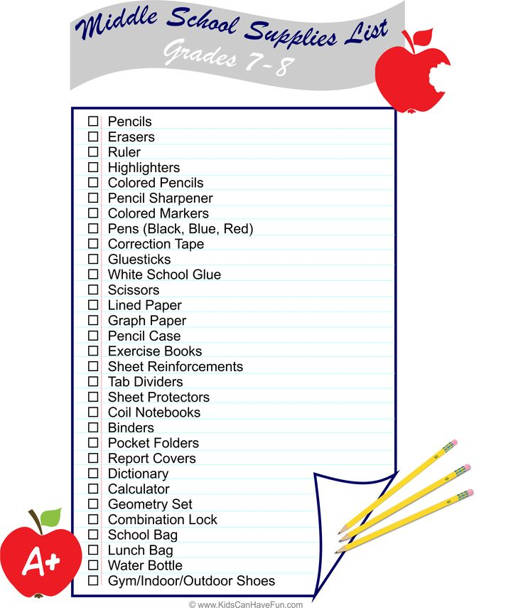 Best 25+ Middle school supplies ideas on Pinterest Middle school - printable office supply list