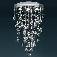 Home Decor, Home Decor Ideas, DIY Home Decor| HomeDecor.com. Comtemporary Crystal Flush Mount Lights with 3 Lights GU10 Bulb Base £129.99 Added Via +Christmas button