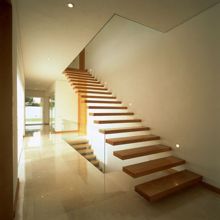 Invisible Stair Support