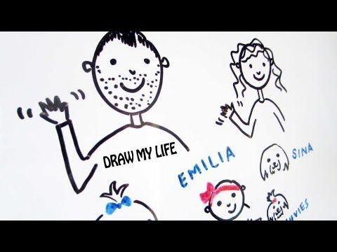 DRAW MY LIFE | SACCONEJOLYs | JONATHAN JOLY - YouTube