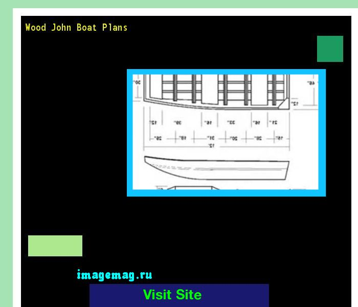 Wood John Boat Plans 101014 - The Best Image Search
