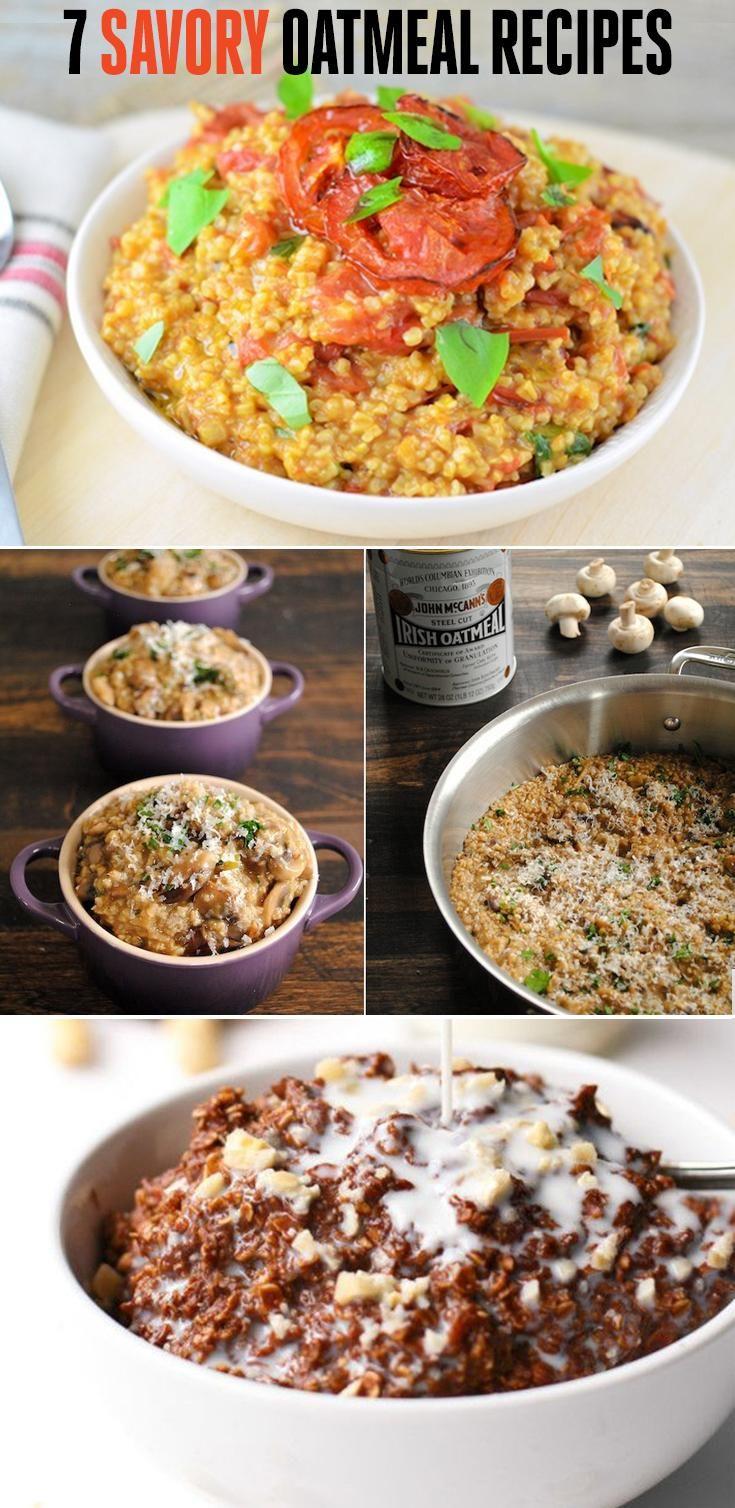 7 Savory Oatmeal Recipes