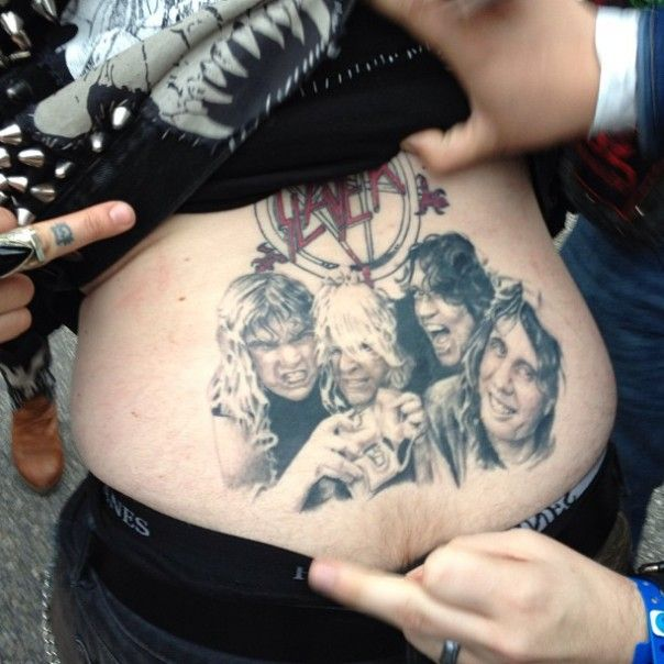 The Best SLAYER Tramp Stamp You Will Ever See!