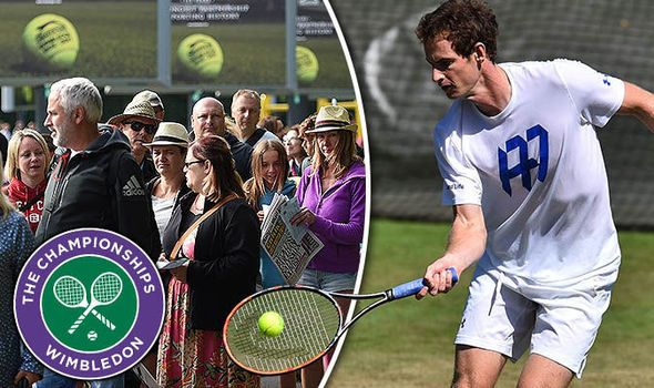 Wimbledon 2017 LIVE day one: Latest scores updates and results Andy Murray starts at 1pm