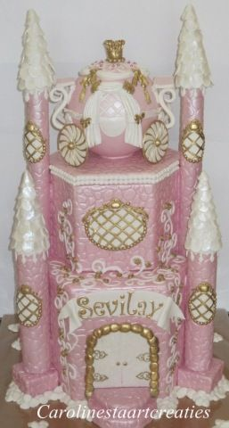 Big fat kasteel cake