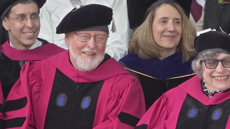 Harvard Student Group Performs A Cappella Tribute to John Williams During Commencement Day