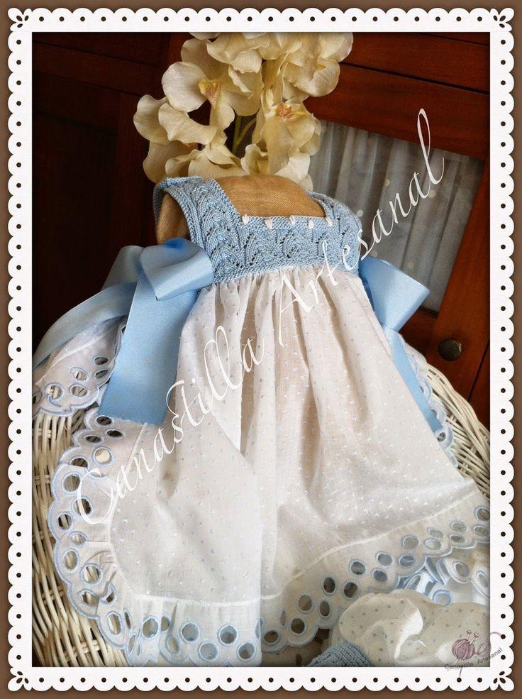 Canastilla artesanal proyectos que intentar pinterest - Canastilla artesanal bebe ...