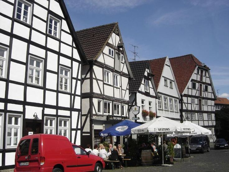Street of Soest, Germany-- TAKE ME BACK!