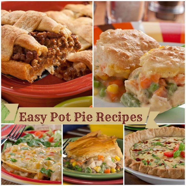 13 Easy Pot Pie Recipes: Chicken Pot Pie, Turkey Pot Pie, and More | mrfood.com