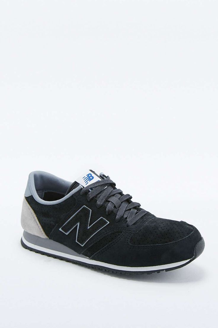 New Balance 420 Runner Black and Grey Trainers