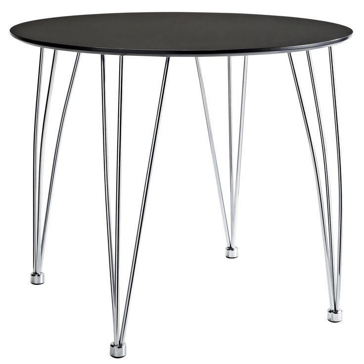 Surge Dining Table in Black
