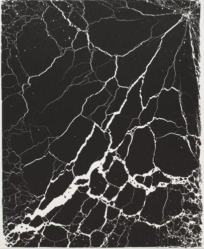 Black texture by Tara Donovan
