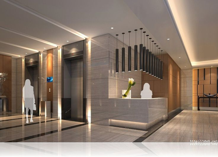 Style hotel elevator simple home design ideas for Reception design hotel