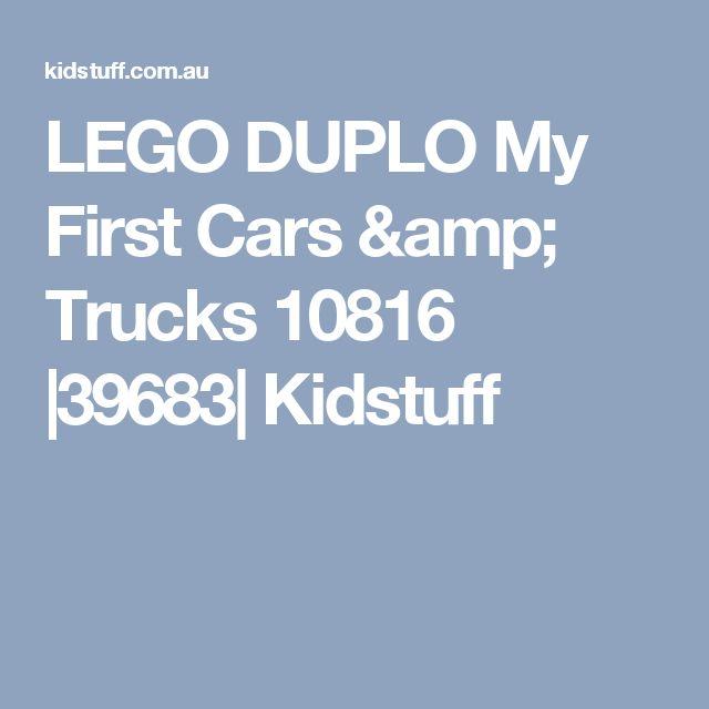 LEGO DUPLO My First Cars & Trucks 10816 |39683| Kidstuff