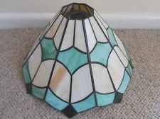 Lamp Shades Tiffany Style: Tiffany style glass ceiling lampshade. lamp shade (up),Lighting