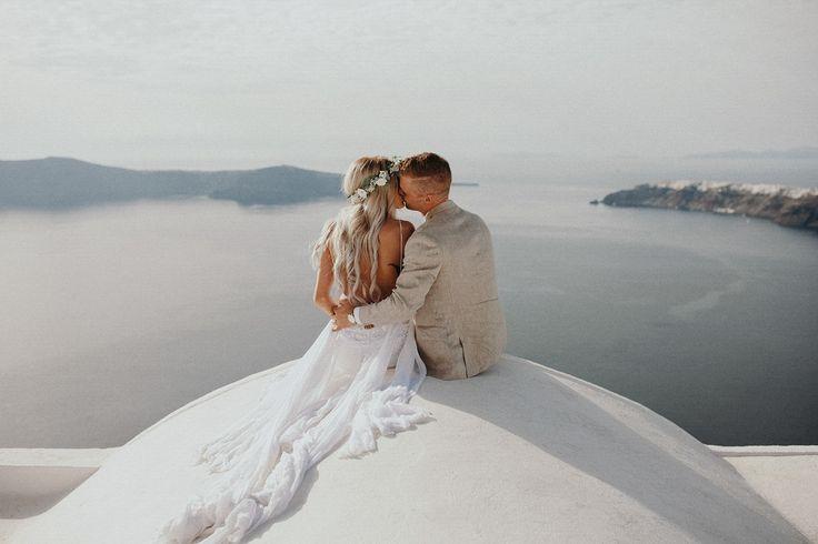 Santorini, Greece | Image by Jordan Voth or Jordan Voth Photography