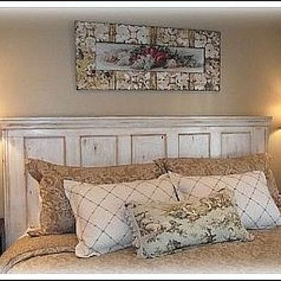 Old Door Headboards Design, Pictures, Remodel, Decor and Ideas