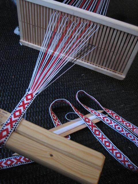 Bandweaving, March 2010 by yarn jungle, via Flickr
