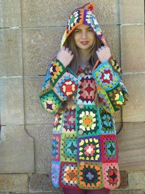 granny coat pattern! must make.