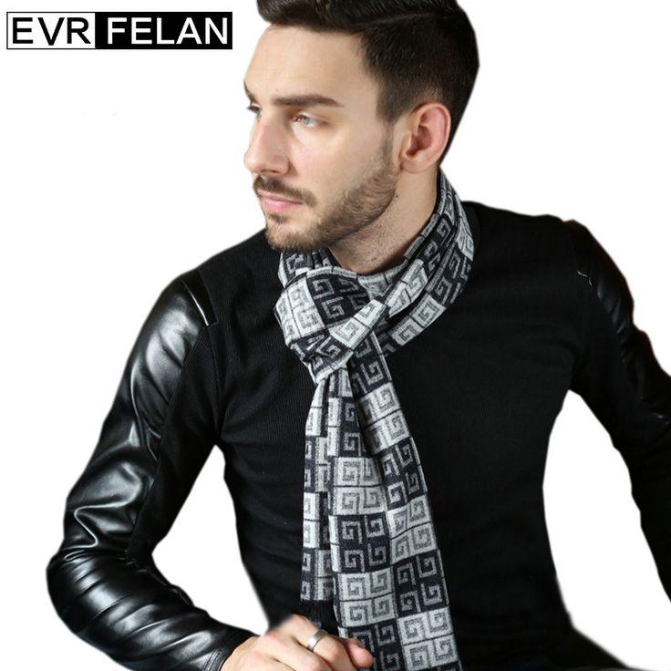 Classic Design Winter Scarf For Man Shawls And Scarf Fashion Man Scarf Brand Warm Shawls European Style Gift For Man Hot Sales