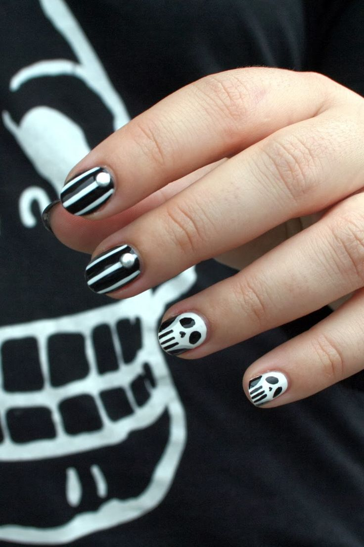 537 best halloween images on pinterest halloween skull souchka blog nail art blog beaut nail artist manucure freelance paris prinsesfo Images