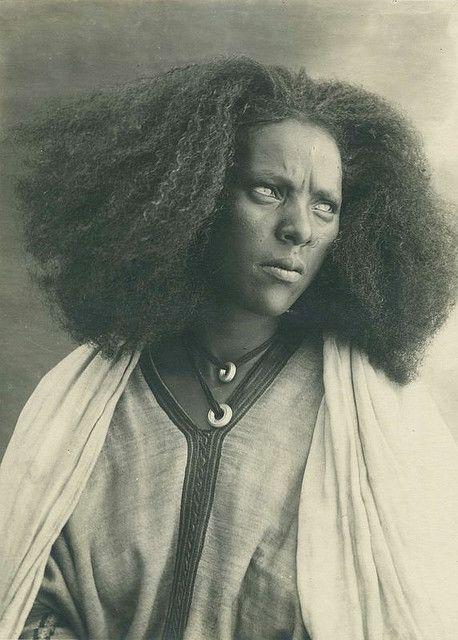 Woman of Serae    Photo taken in 1936 in Italian East Africa, Serae is a region of modern day Eritrea