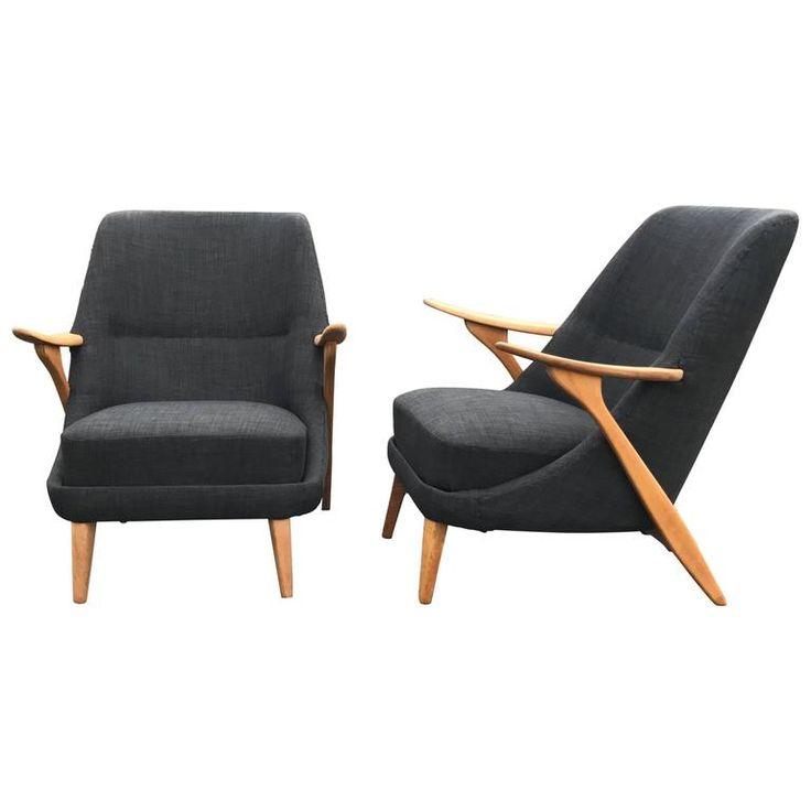 Pair of Scandinavian Modern Lounge Chairs by Svante Skogh for Seffle  M belfabrik. Best 25  Modern lounge ideas on Pinterest   Modern outdoor lounge