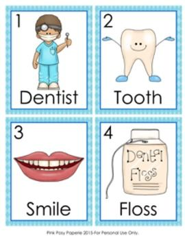 This dental health write the room activity would be great to use in a literacy center. Students search the room to find the pictures and write the word after the corresponding number on the recording sheet. Activity includes 8 pictures. Print the picture cards onto cardstock and laminate for durability.