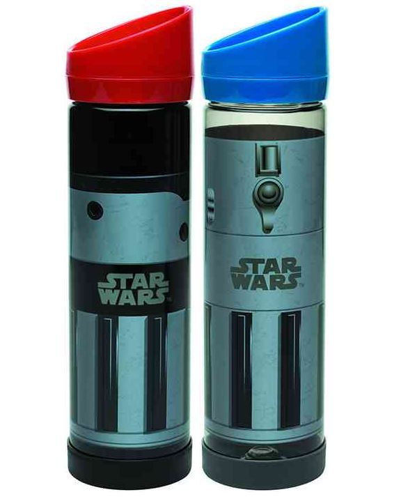 New Star Wars Lightsaber Water Bottles And Character Tumblers