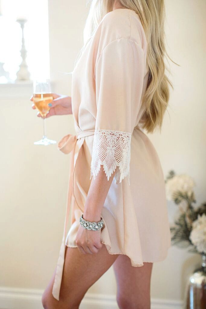 Bridal robes are perfect for pre-wedding prep and honeymoons. From romantic lace detailing to velvety satin, we've found 10 gorgeous bridal robes from Etsy that you're sure to love. This soft and airy robe from BLUSHandHEARTBRIDAL will keep you looking lovely, even while lounging. For your something blue, how about this Margot Charmeuse lace robe …