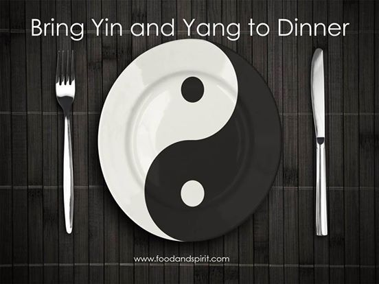 Yin and Yang to Dinner!