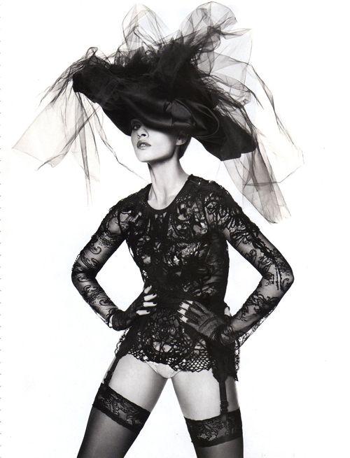 Crystal Renn | Miguel Riveriego | Vogue Russia June2012 - 3 Sensual Fashion Editorials | Art Exhibits - Anne of Carversville Women's News