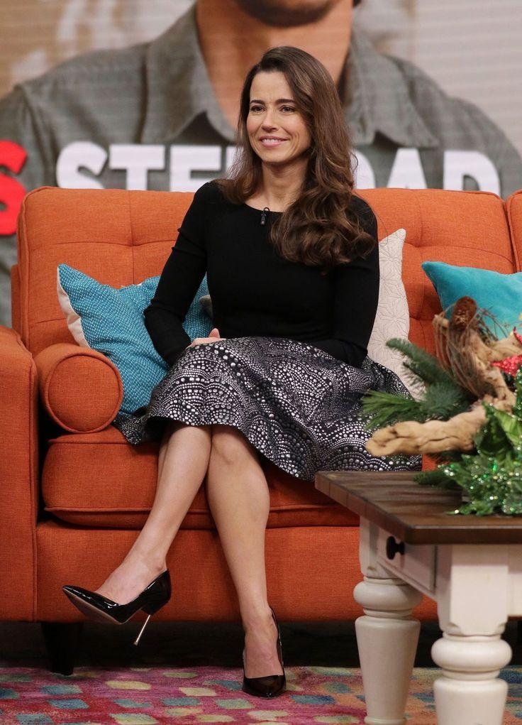 Linda Cardellini guesting at 'Despierta America' in Miami