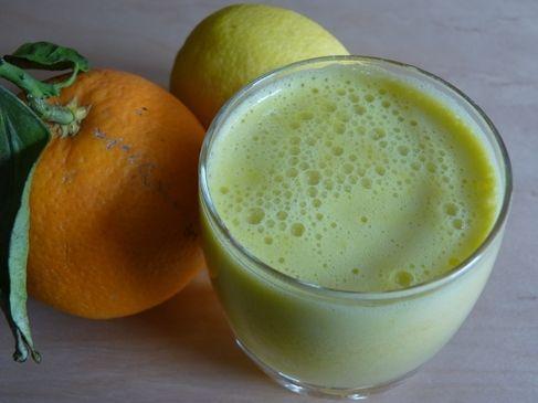 Batido de Aloe Vera (sábila) y limón