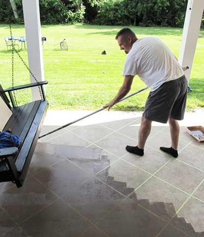Staining Concrete Floors. Acid Stained Concrete PatioConcrete ...