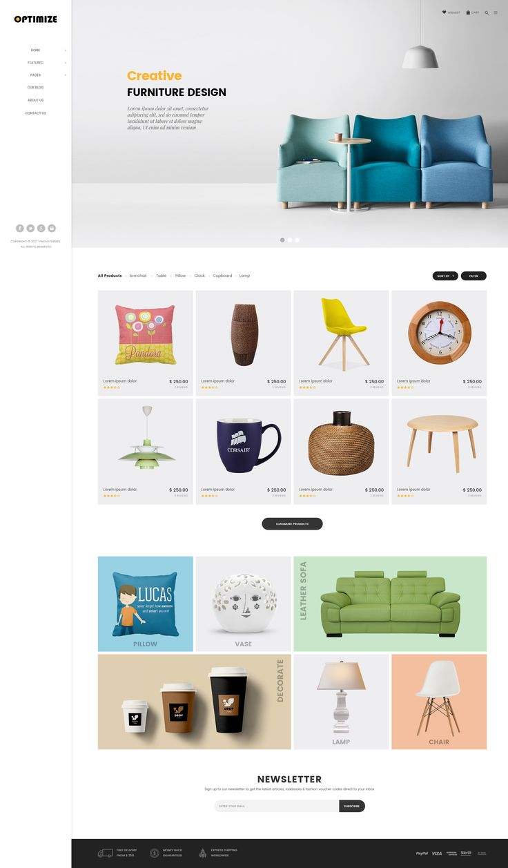 """Check out my @Behance project: """"Optimize - Minimalist Ecommerce Template"""" https://www.behance.net/gallery/53437691/Optimize-Minimalist-Ecommerce-Template"""